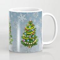 Christmas Tree & Snow Mug