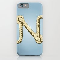 Alphabet N iPhone 6 Slim Case