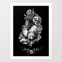 Kontur Art Print