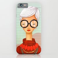 iPhone & iPod Case featuring Icons / Iris by Renia