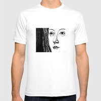 Queen Katherine Of Arago… Mens Fitted Tee White SMALL