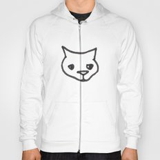 Concerned Cat Hoody