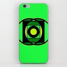 The Lantern's Glow iPhone & iPod Skin