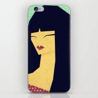 Cute Girl iPhone & iPod Skin