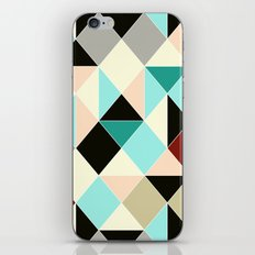 Harlequin tile iPhone & iPod Skin