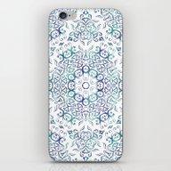Harmony In Blue iPhone & iPod Skin