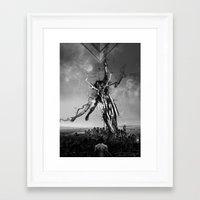 Renda-se Framed Art Print