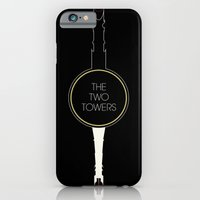 iPhone & iPod Case featuring The Two Towers by Ian Wilding