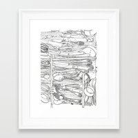 Everything But the Kitchen Sink Framed Art Print