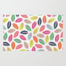 Bright Leaves Rug