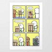 Antics #209 - Appreciati… Art Print