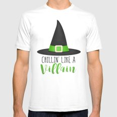 Chillin' Like A Villain Mens Fitted Tee White SMALL