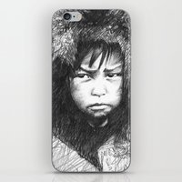 Inuit Boy iPhone & iPod Skin