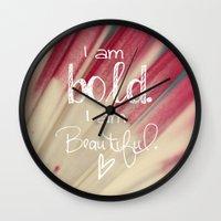 Bold and Beautiful Wall Clock