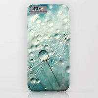 iPhone & iPod Case featuring Dandelion Starburst by Sharon Johnstone