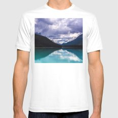 Undo this storm and wait Mens Fitted Tee White SMALL