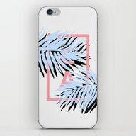 iPhone & iPod Skin featuring CALI Blue by Hanna Kastl-Lungberg