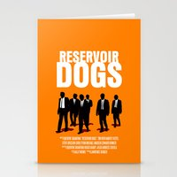 Reservoir Dogs Movie Poster Stationery Cards