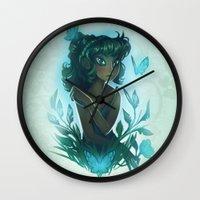 Maggie's Garden Wall Clock