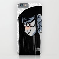 Black hair iPhone 6 Slim Case