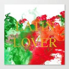 Latin Lover Canvas Print