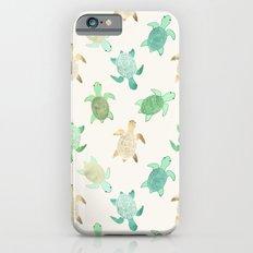 Gilded Jade & Mint Turtles iPhone 6 Slim Case