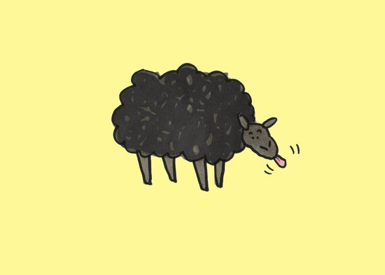 Sheep Art Print