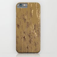 Thin Branches Sepia iPhone 6 Slim Case