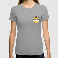 NEWBARIC SINCE '99 Womens Fitted Tee Tri-Grey SMALL