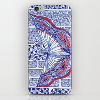 Mariposa iPhone & iPod Skin