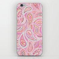 Pink Paisley iPhone & iPod Skin