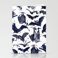 Stationery Cards featuring BATS by DIVIDUS