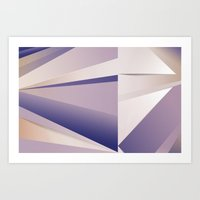 Purple Glam Art Print