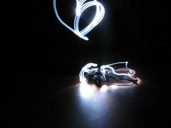 Minolta Light Art Art Print