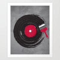 music Art Prints featuring Art of Music by dan elijah g. fajardo