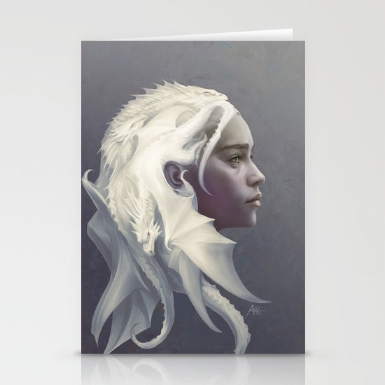 Mother of Dragons Stationery Card