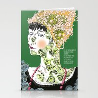 Anna Achmatova Stationery Cards