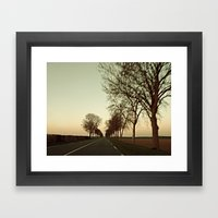 there is this undiscovered space, 2 Framed Art Print