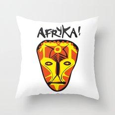 Afryka! Throw Pillow