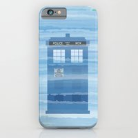 iPhone & iPod Case featuring TARDIS Under the Sea - Doctor Who Digital Watercolor by Corrie Jacobs