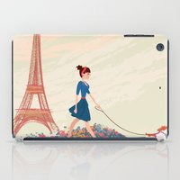 An Afternoon Stroll In P… iPad Case