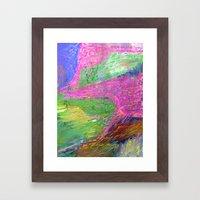 Lyrical Landscape Framed Art Print