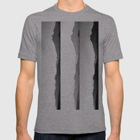 Skyline II Mens Fitted Tee Athletic Grey SMALL
