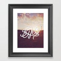 Dawn Is Coming Framed Art Print