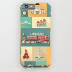 San Francisco Landmarks iPhone 6 Slim Case