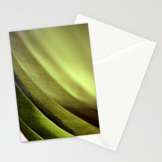 Abstract Leaf Stationery Cards