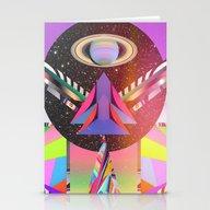 Simetria Celestial 1 Stationery Cards
