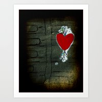 Love Malfunction Art Print