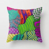 Fun & Funky Throw Pillow