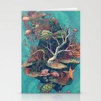 Coral Communities Stationery Cards